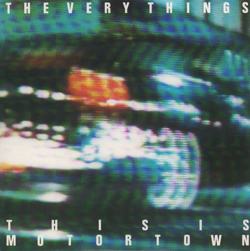 """The Very Things This Is Motortown 7"""" vinyl single (7 inch record) UK TFV07TH637032"""