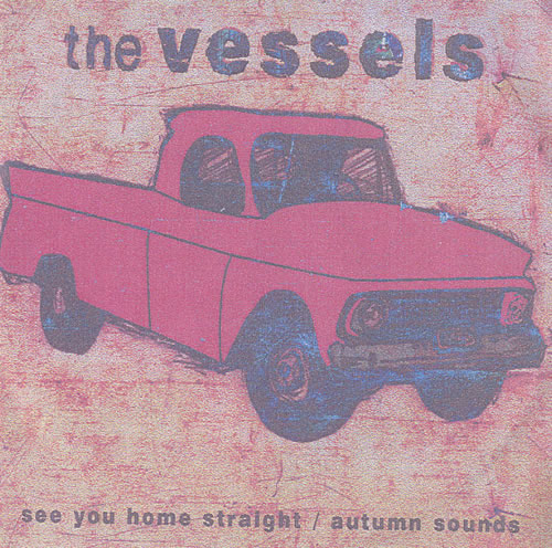 The Vessels See You Home Straight / Autumn Sounds CD-R acetate UK V/ECRSE484783