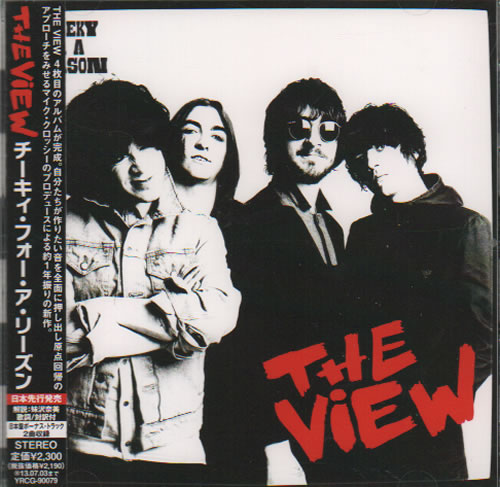 The View Cheeky For A Reason CD album (CDLP) Japanese TVWCDCH634945