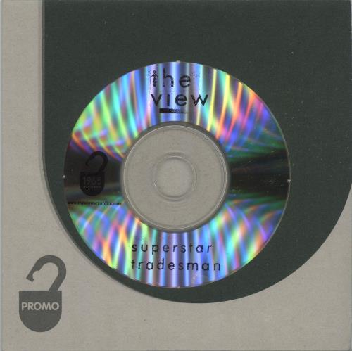 The View Superstar Tradesman CD-R acetate UK TVWCRSU664293