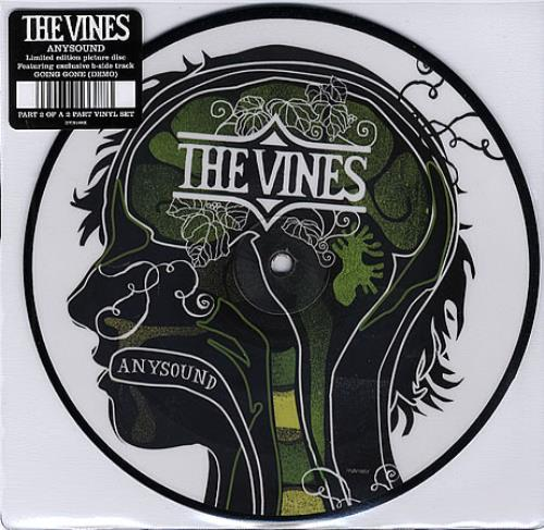 """The Vines Anysound 7"""" vinyl picture disc 7 inch picture disc single UK VNE7PAN361263"""