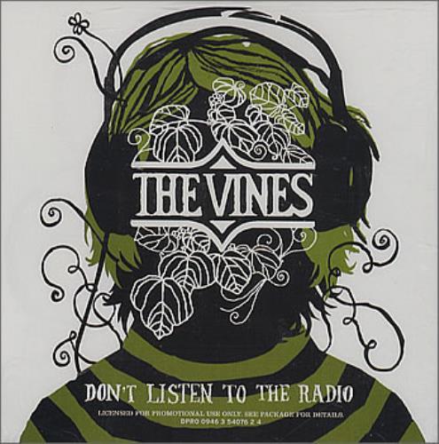 "The Vines Don't Listen To The Radio CD single (CD5 / 5"") US VNEC5DO363463"