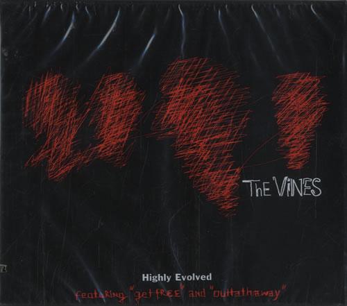 The Vines Highly Evolved CD album (CDLP) US VNECDHI485031
