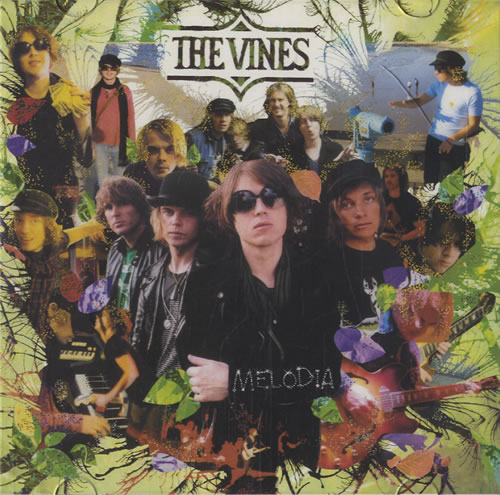 The Vines Melodia CD-R acetate Japanese VNECRME473600