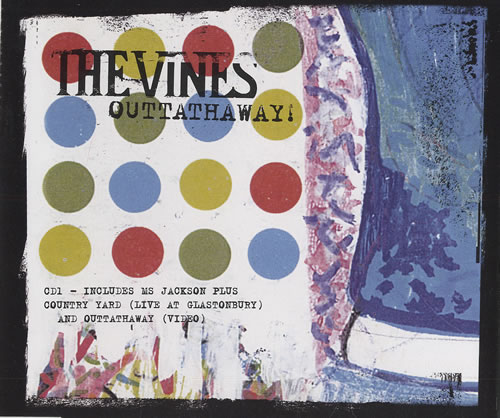 """The Vines Outtathaway CD single (CD5 / 5"""") UK VNEC5OU474755"""