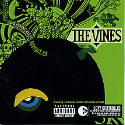 The Vines Winning Days Advance CD CD album (CDLP) US VNECDWI281622