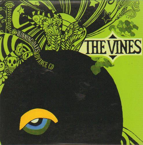 The Vines Winning Days Advance CD CD album (CDLP) UK VNECDWI282875