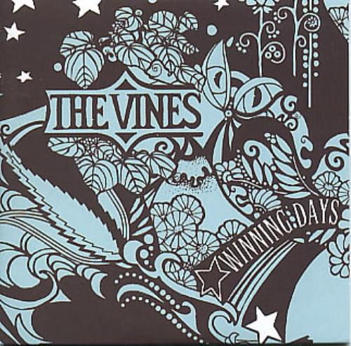 "The Vines Winning Days CD single (CD5 / 5"") UK VNEC5WI287681"