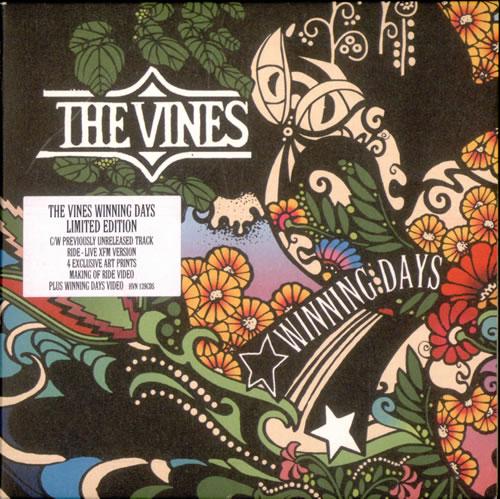 "The Vines Winning Days CD single (CD5 / 5"") UK VNEC5WI503151"