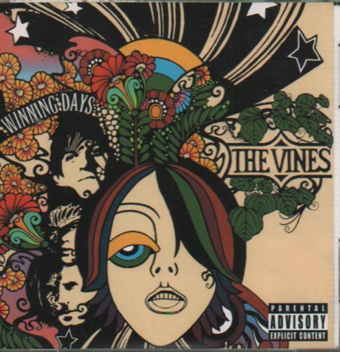 The Vines Winning Days CD album (CDLP) Japanese VNECDWI651896
