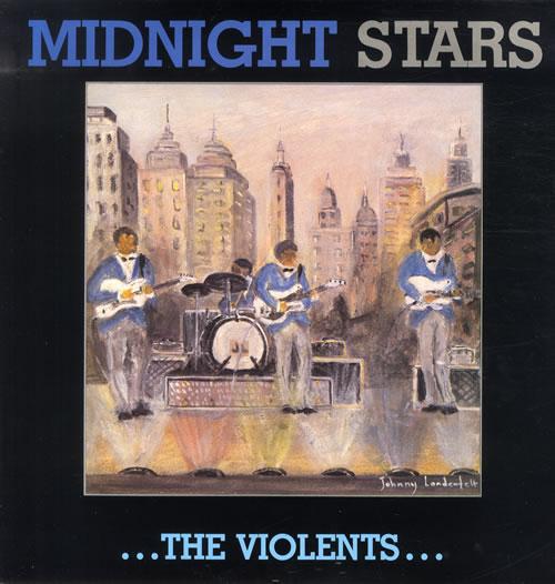 The Violents Midnight Stars vinyl LP album (LP record) Swedish U8KLPMI550290