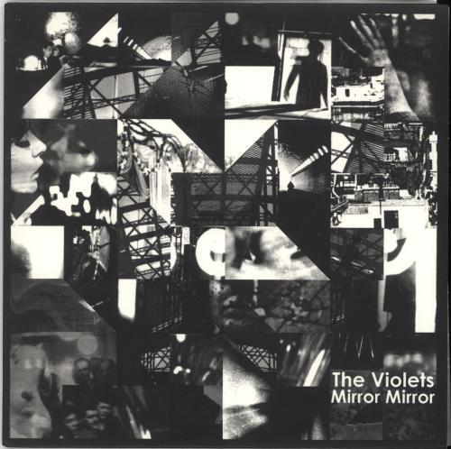 "The Violets Mirror Mirror 7"" vinyl single (7 inch record) UK V9H07MI636151"