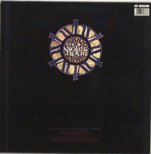 """The Violet Hour Falling 12"""" vinyl single (12 inch record / Maxi-single) UK U9E12FA695477"""