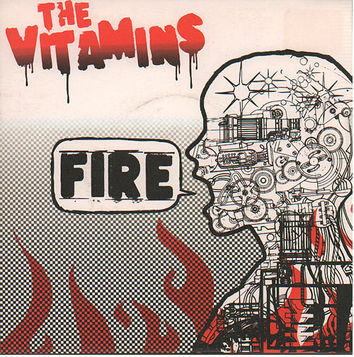 "The Vitamins Fire 7"" vinyl single (7 inch record) UK XLU07FI636696"