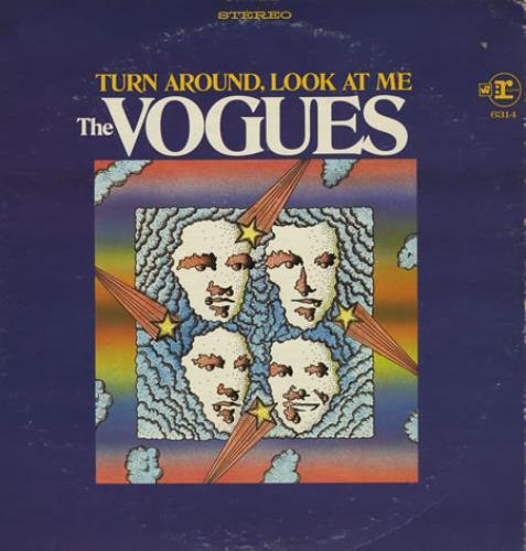 The Vogues Turn Around, Look At Me vinyl LP album (LP record) US VOGLPTU394085
