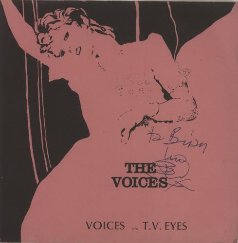 "The Voices Voices 7"" vinyl single (7 inch record) UK YJO07VO681755"