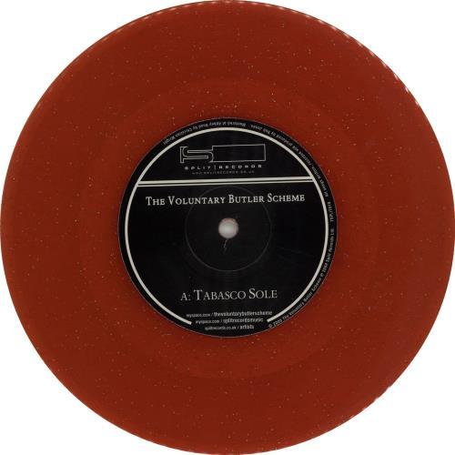 "The Voluntary Butler Scheme Tabasco Sole - Red Vinyl 7"" vinyl single (7 inch record) UK XZM07TA654357"