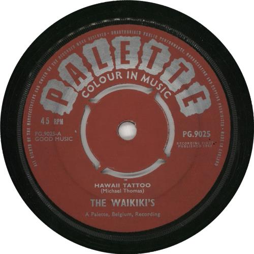 The Waikikis Hawaii Tattoo vinyl LP album (LP record) UK U2ELPHA730643