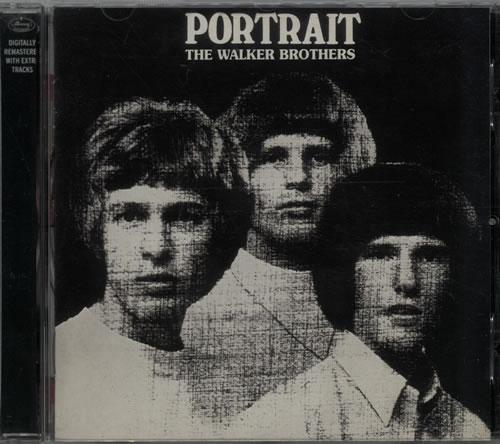 The Walker Brothers Portrait CD album (CDLP) UK TWBCDPO642542