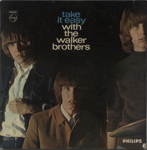 The Walker Brothers Take It Easy With The Walker Brothers - Autographed vinyl LP album (LP record) UK TWBLPTA665400