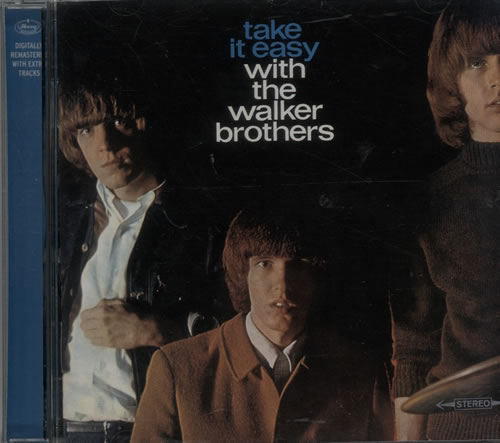 The Walker Brothers Take It Easy With The Walker Brothers CD album (CDLP) UK TWBCDTA642536