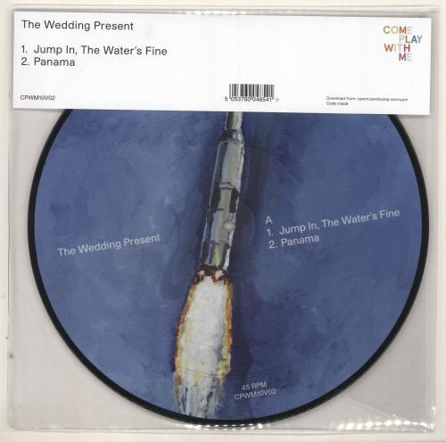 """The Wedding Present Jump In, The Water's Fine 10"""" Vinyl Picture Disc (10"""" Record Single) UK TWP1PJU727711"""