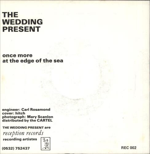 "The Wedding Present Once More 7"" vinyl single (7 inch record) UK TWP07ON05596"