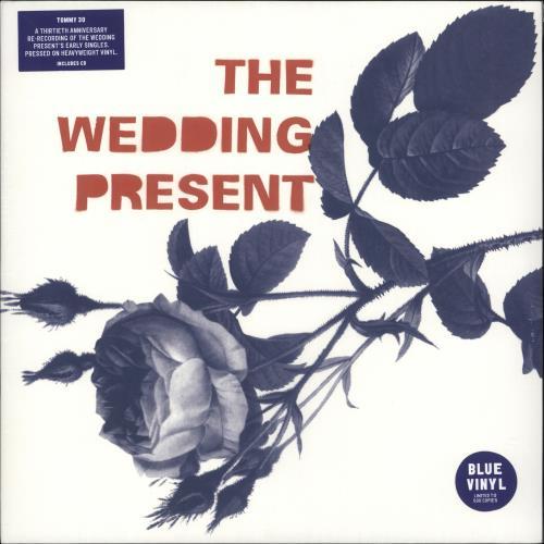 The Wedding Present Tommy 30 - Blue Vinyl + Bonus CD - Sealed vinyl LP album (LP record) UK TWPLPTO727714