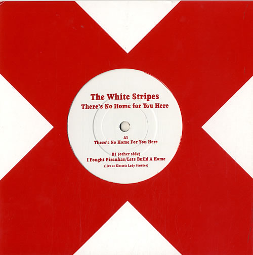 "The White Stripes There's No Home For You Here 7"" vinyl single (7 inch record) UK WST07TH288047"