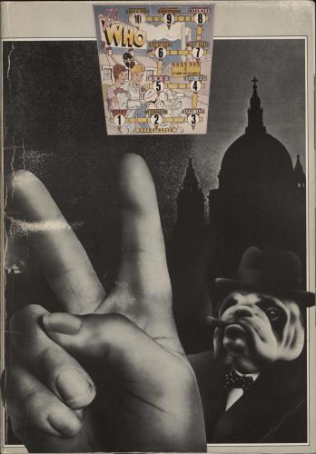 The Who 1975 British Tour tour programme UK WHOTRBR474370