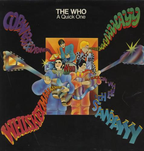The Who A Quick One / Sell Out - EX 2-LP vinyl record set (Double Album) UK WHO2LAQ69926