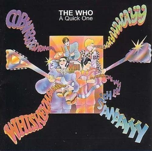 The Who A Quick One CD album (CDLP) UK WHOCDAQ241663