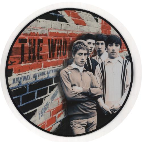 The Who Anyway, Anyhow, Anywhere 1965-1966 picture disc LP (vinyl picture disc album) UK WHOPDAN730333