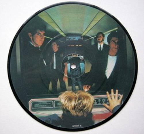 """The Who Athena 7"""" vinyl picture disc 7 inch picture disc single UK WHO7PAT49411"""