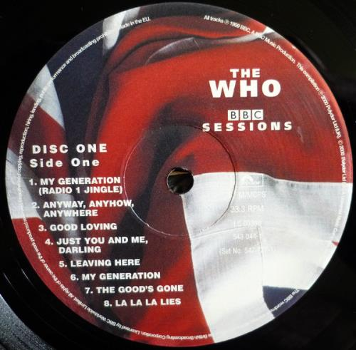 The Who BBC Sessions - Sealed 2-LP vinyl record set (Double Album) UK WHO2LBB761451