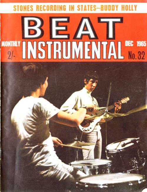 The Who Beat Instrumental Monthly No.32 magazine UK WHOMABE551765