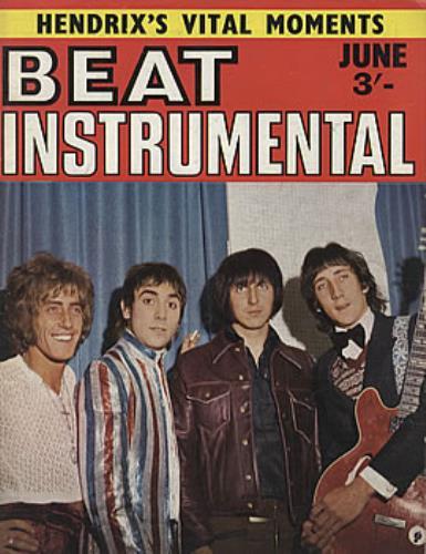 The Who Beat Instrumental No.62 magazine UK WHOMABE313490