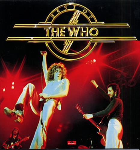 The Who Best Of The Who 2-LP vinyl record set (Double Album) Japanese WHO2LBE306894