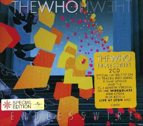 The Who Endless Wire - Sealed 2 CD album set (Double CD) UK WHO2CEN378643