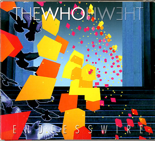 The Who Endless Wire 2 CD album set (Double CD) UK WHO2CEN630696