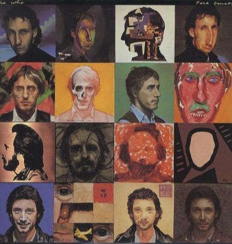 The Who Face Dances + Inner/Poster vinyl LP album (LP record) US WHOLPFA443658
