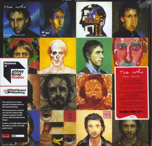 The Who Face Dances - RSD 2021 - Yellow & Blue Vinyl - Sealed 2-LP vinyl record set (Double Album) UK WHO2LFA770193
