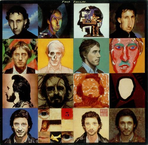 The Who Face Dances vinyl LP album (LP record) UK WHOLPFA453938