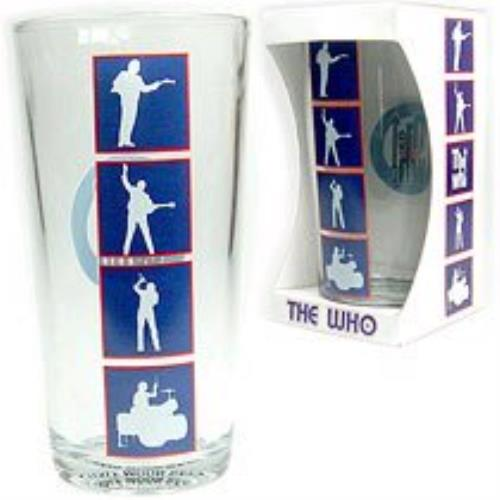 The Who Glass Tumbler memorabilia UK WHOMMGL351781
