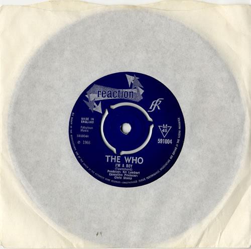 "The Who I'm A Boy - 3pr 7"" vinyl single (7 inch record) UK WHO07IM75059"