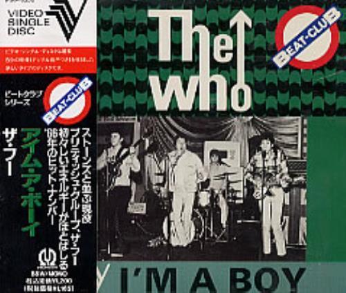 The Who I'm A Boy - CDV Video CD Japanese WHOVDIM200870