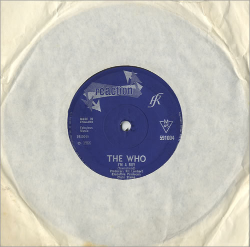"The Who I'm A Boy - Solid 7"" vinyl single (7 inch record) UK WHO07IM475672"