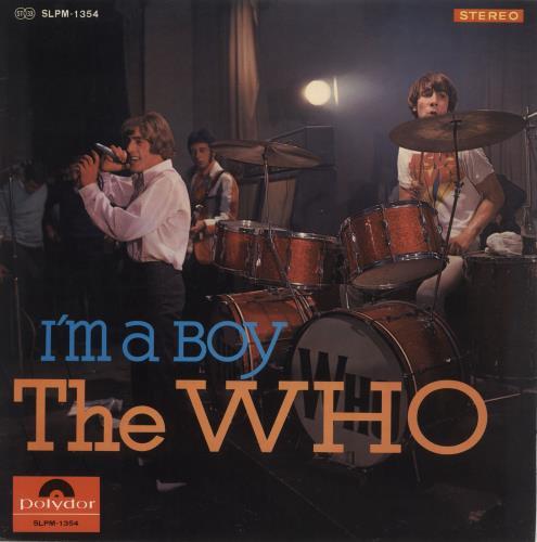 The Who I'm A Boy vinyl LP album (LP record) Japanese WHOLPIM594237