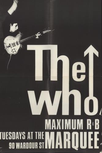 The Who Live At Leeds - 1st Blue - Complete - Tuesday Poster - EX vinyl LP album (LP record) UK WHOLPLI776566