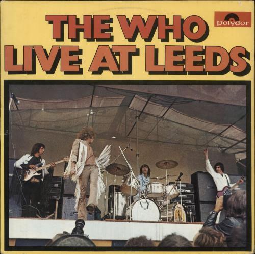 The Who Live At Leeds Brazilian Vinyl Lp Album Lp Record